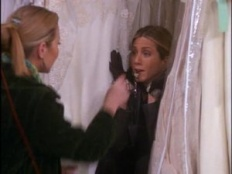 Friends 07x17 : The One With The Cheap Wedding Dress- Seriesaddict